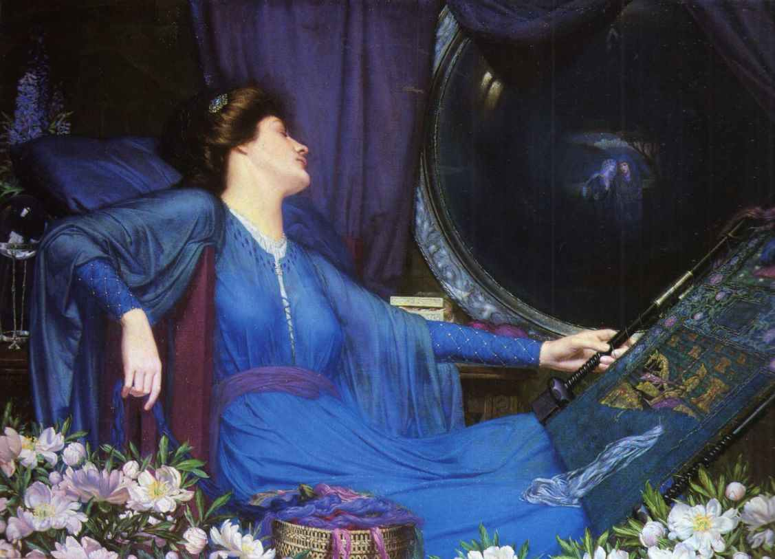 Sidney Harold Meteyard - I Am Half-Sick of Shadows, Said the Lady of Shalott 1913